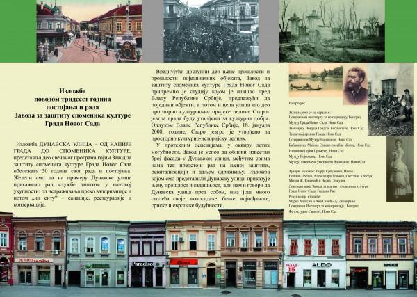 Izložba Dunavska ulica