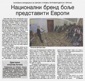 Dnevnik 1. jul 2014.godine