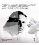 Радови на санацији оштећења вајарског дела - скулптуре Марине Олењине, јавног споменика у Новом Саду