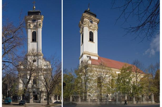 Konzervatorski radovi na obnovi Almaške crkve u Novom Sadu